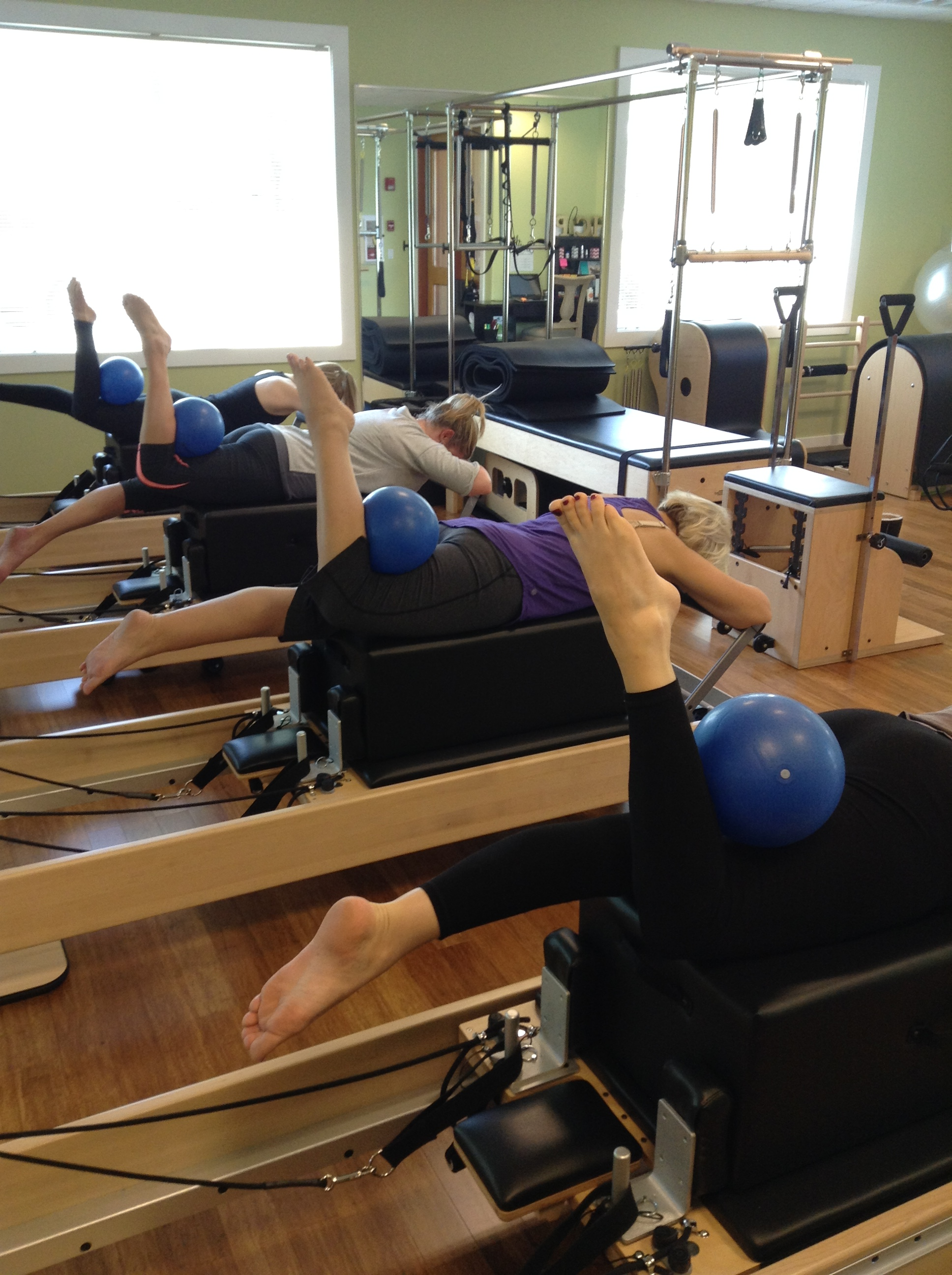 Group Class Reformer On The Box